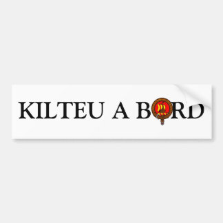 For the cars of Kilteux Bumper Stickers