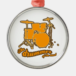 For the drummer christmas ornament