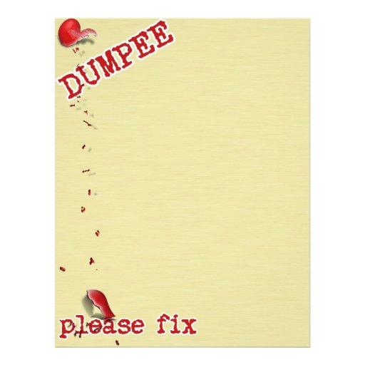 For the Dumpee.... Flyer Design