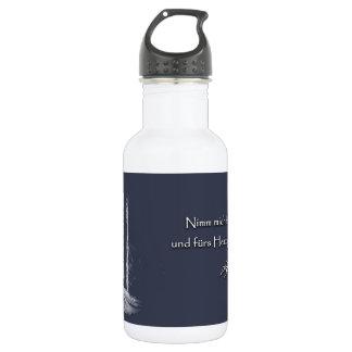 For the heart 532 ml water bottle