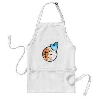 for the heart of.. BASKETBALL Standard Apron