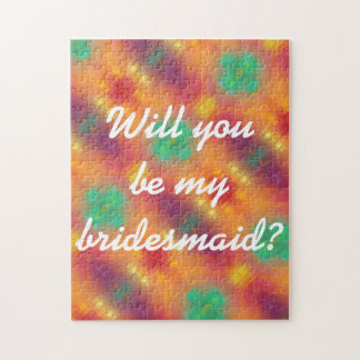 For The Love - Be My Bridesmaid Puzzle