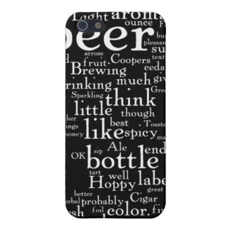 For the Love of Beer Word Cloud Case For iPhone 5