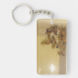 For the Love of Bees Key Chain