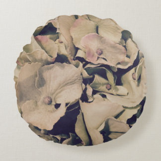 For the Love of Decor - Hydrangea Round Cushion