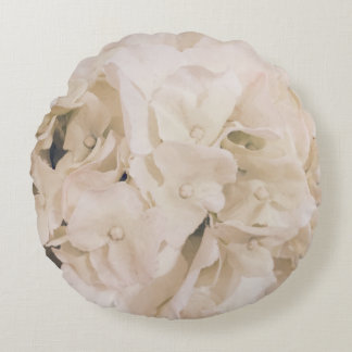 For the Love of Decor - Hydrangea Round Cushion W