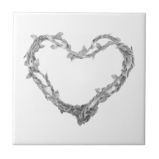 For the Love of Decor - Twine Heart Tile