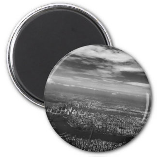 For the Love of NYC - Skyline View Magnet