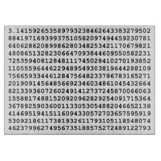 For the Love of Pi Cutting Board