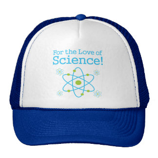 For The Love Of Science Atom Cap
