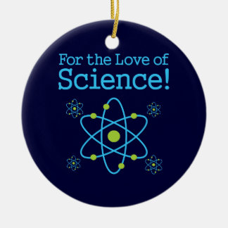 For The Love Of Science Atom Christmas Ornament