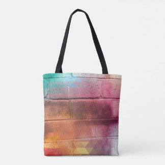 For the Love of Shopping - Brick Wall Tote