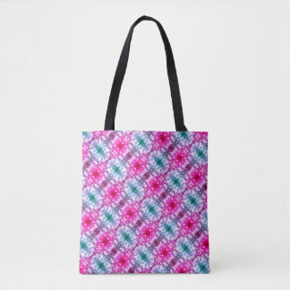 For the Love of Shopping - Pink Glitter Tote