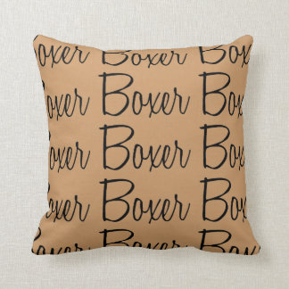 For the Love of the Boxer Dogs Cushion