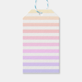 For the Love - Ombre Stripe Gift Tag