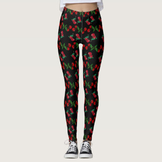 For the Pretty Pleasing: with cherries on top Leggings