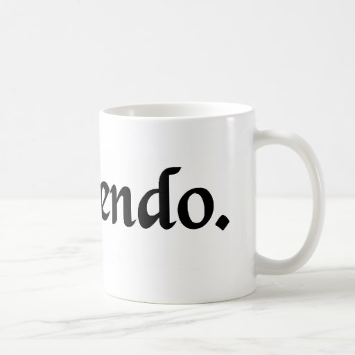 For the sake of argument mug