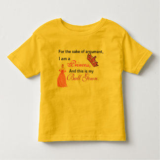For the Sake of Argument Toddler T-shirt