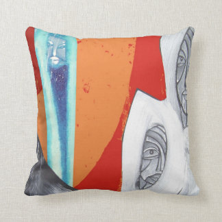 for the time will come throw cushion
