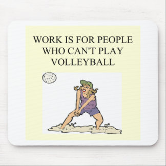 for the volleyball player mouse mat