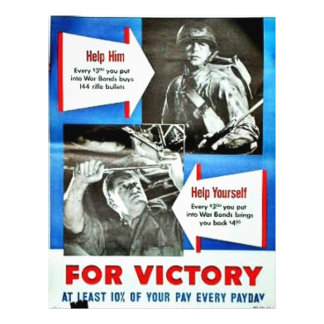 For Victory 1 Personalized Flyer