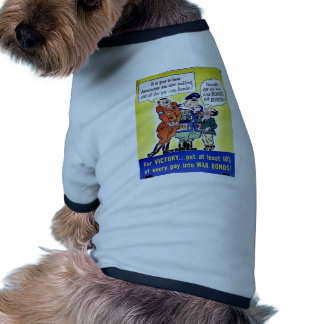 For Victory Doggie T-shirt