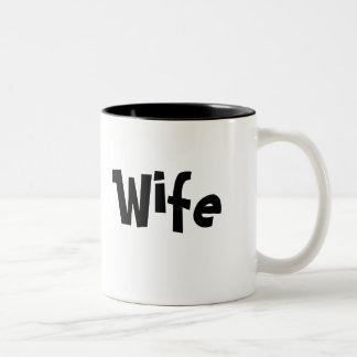 For Wife - Coffee Cup/Mug Two-Tone Coffee Mug