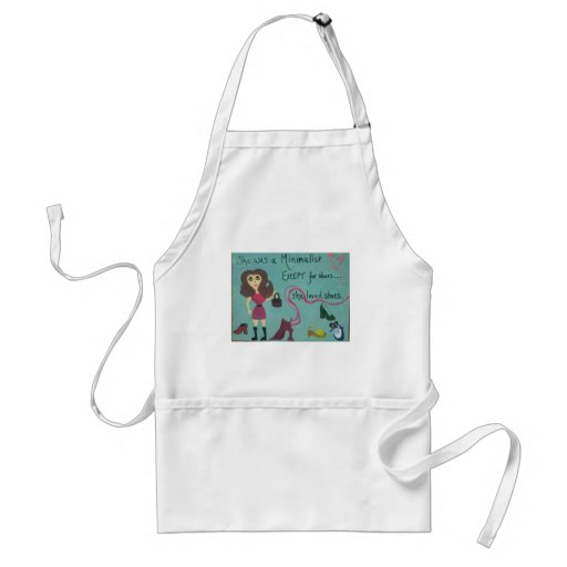 For women who love shoes aprons