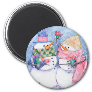 FOR YOU 6 CM ROUND MAGNET