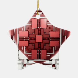 For You Ceramic Star Decoration