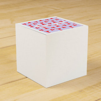 For you! Fun red hearts Favour Box