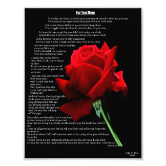 For You Mom Photo Print