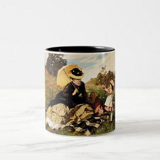 For You Mom With Love--Vintage Painting Coffee Mug