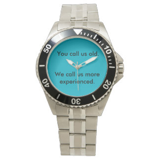 For you people who think this! wrist watches