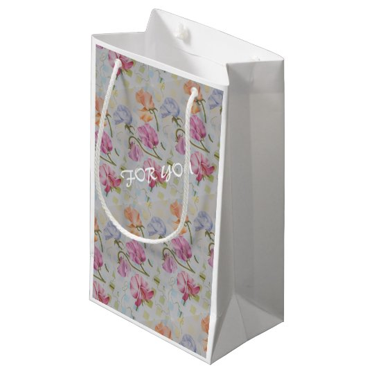 FOR YOU SWEET PEAS SMALL GIFT BAG