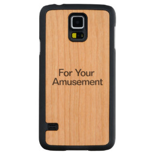For Your Amusement Carved® Cherry Galaxy S5 Case