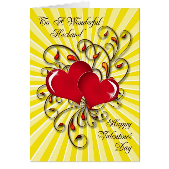 For your husband, a stunning Valentine's card. Card