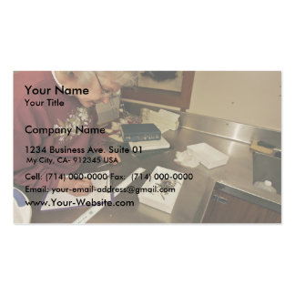 forage fish research, Shumagin Islands Business Card Template
