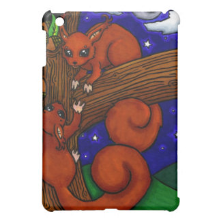 Foraging Red squirrels iPad Mini Cases