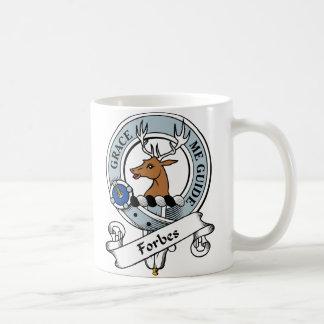 Forbes Clan Badge Basic White Mug