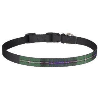 Forbes clan Plaid Scottish tartan Pet Collar