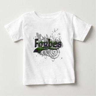 Forbes Tartan Grunge Baby T-Shirt