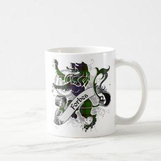 Forbes Tartan Lion Basic White Mug