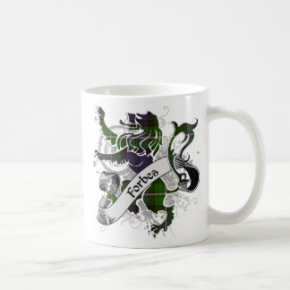 Forbes Tartan Lion Coffee Mug