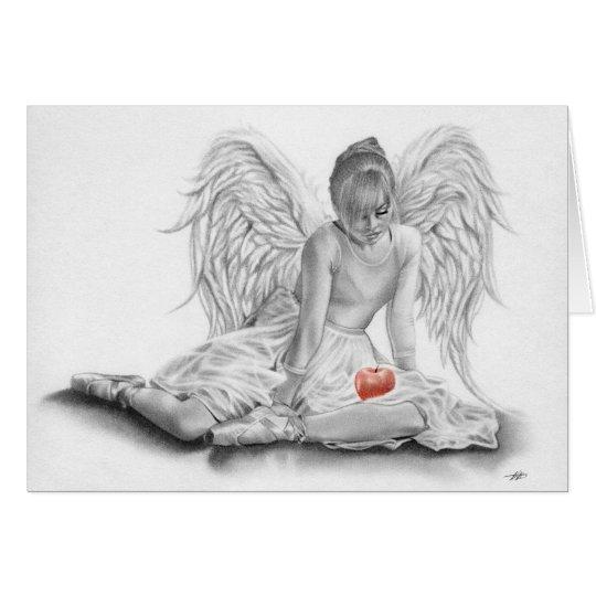 Forbidden Angel Ballerina Card