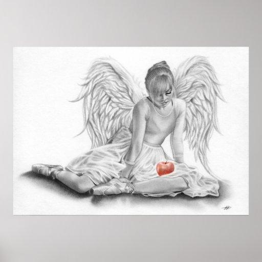 Forbidden Angel Ballerina POSTER