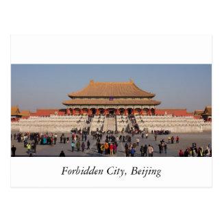 Forbidden City, Beijing Postcard