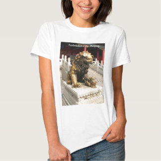 Forbidden City Bronze Lion Shirt