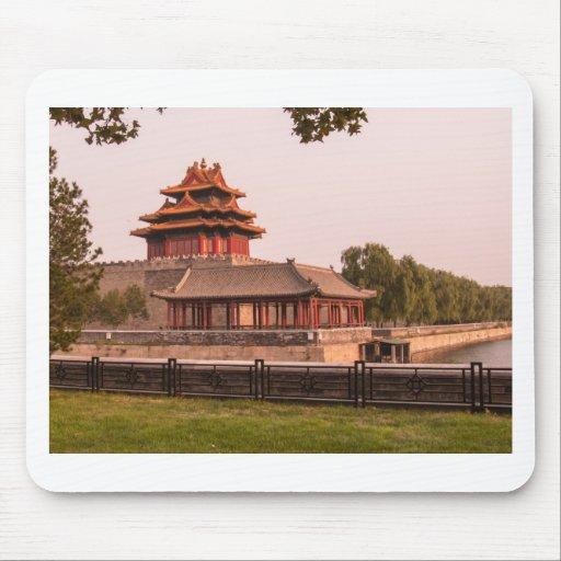 Forbidden City Walls Mousepad