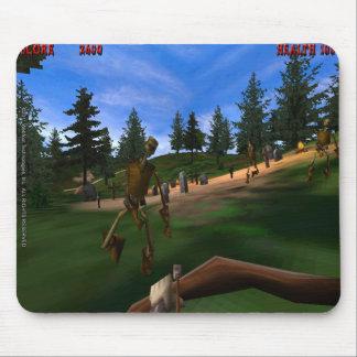 Forbidden Forest 3 Retro Mousepad